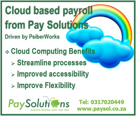 Cloud computing - get your business on the cloud! - Pay Solutions