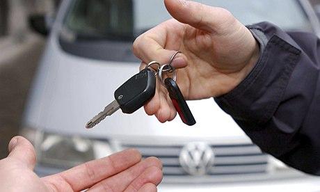 company cars retail market value principal