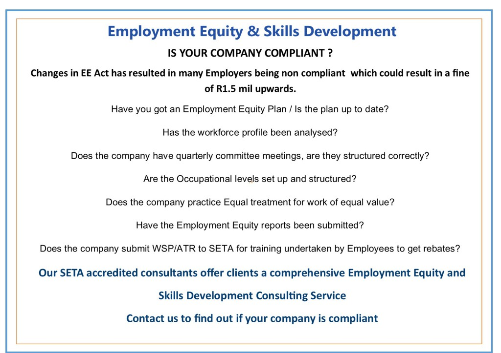 Employment Equity Electronic Submission