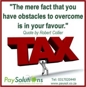 SARS efiling, SARS, Tax, IRP5, EasyFile, Payroll, SARS tax tables