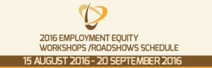 Employment Equity Roadshows