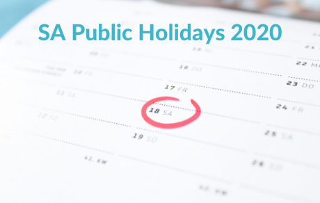 Public Holidays 2020